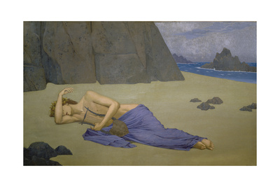 The Lamentation of Orpheus, 1896 Giclee Print by Alexandre Séon