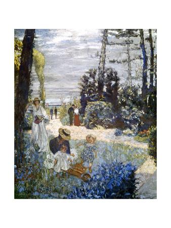 A Garden in Normandy, 1898 Giclee Print by Edouard Vuillard