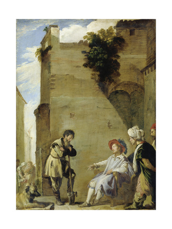 The Parable of the Labourers in the Vineyard Giclee Print by Domenico Fetti