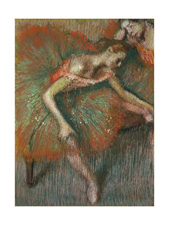 Dancer, Circa 1899 Giclee Print by Edgar Degas