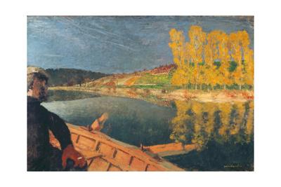 The Ferryman Giclee Print by Edouard Vuillard