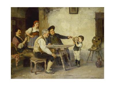 Die Erste Mass, 1894 Giclee Print by Hugo Oehmichen