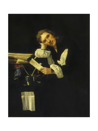 Portrait of a Dreamy Young Man, C. 1656 Giclee Print by Michael Sweerts