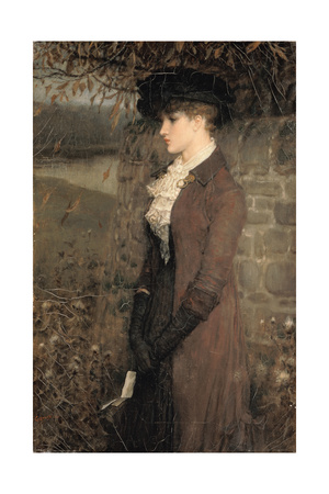 Falling Leaves Giclee Print by George Henry Boughton
