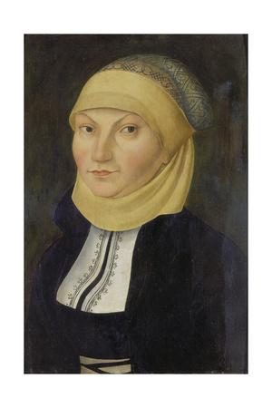 Bildnis Der Katharina Von Bora, Gemahlin Martin Luthers Giclee Print by Lucas Cranach the Elder