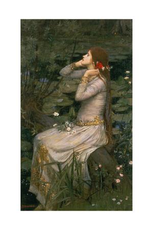 Ophelia, 1894 Giclee Print by John William Waterhouse