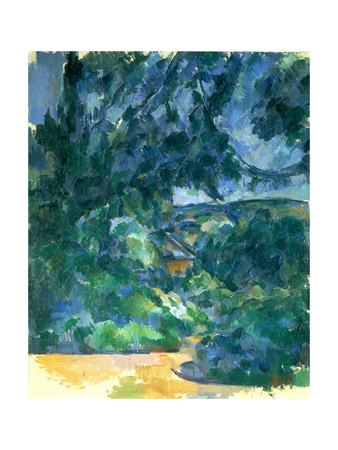 Blue Landscape, Between 1904 and 1906 Giclee Print by Paul Cézanne