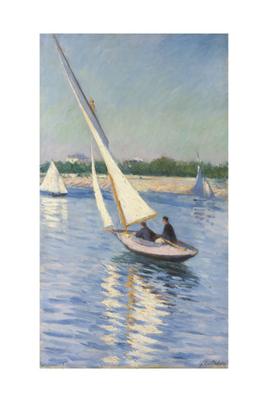 Sailing Boat at Argenteuil, 1893 Giclee Print by Gustave Caillebotte