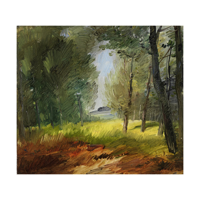 Clearing in the Sun, around 1890 Giclee Print by Wilhelm Busch