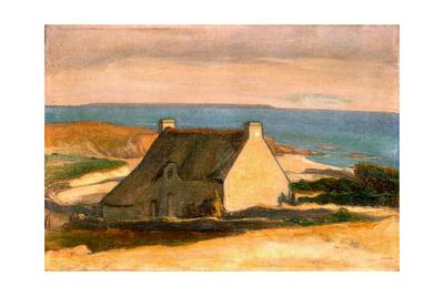 Cottage at Le Pouldu, C. 1892 Giclee Print by Wladyslaw Slewinski