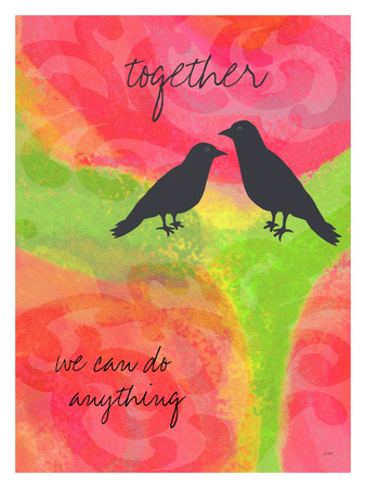 Together Giclee Print by Lisa Weedn