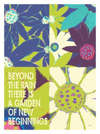 Beyond The Rain Giclee Print by Lisa Weedn