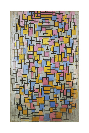 Composition, 1916 Giclee Print by Piet Mondrian