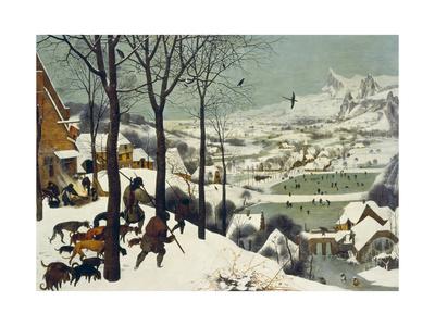 The Return of the Hunters Giclée-tryk af Pieter Bruegel the Elder