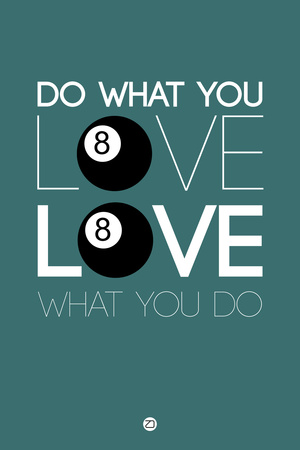 Do What You Love Love What You Do 4 Plastic Sign by  NaxArt