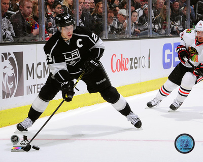 Dustin Brown 2014-15 Action Photo