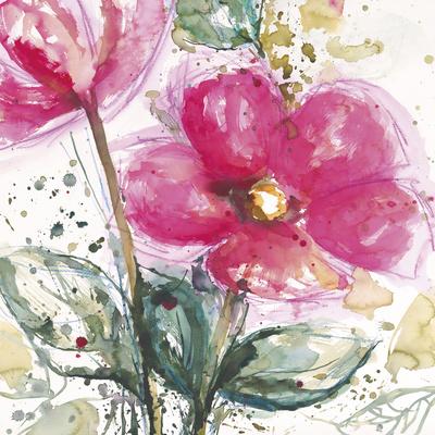 Pink Flower I Posters by Lilian Scott