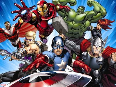 Avengers Assemble - Situational Art Wall Decal