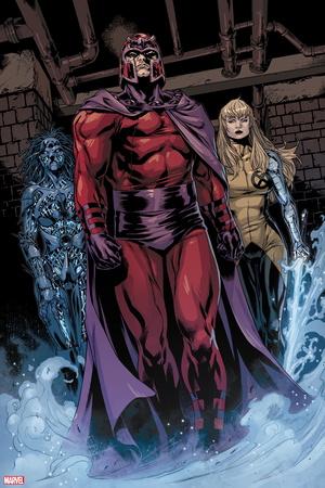 AVX: Consequences No. 4: Magneto, Magik, Danger Plastic Sign