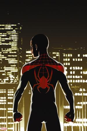 Miles Morales: Ultimate Spider-Man No. 1: Spider-Man Plastic Sign