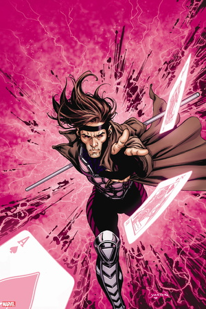 Gambit X-men superhero comic book poster