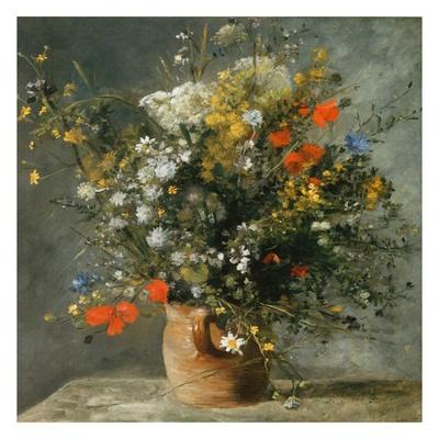 Fleurs dans un vase Prints by Auguste Renoir