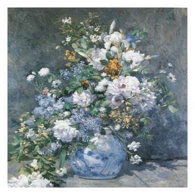 Bouquet Printanier Art by Auguste Renoir