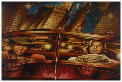 Serie noire Art by Alain Cardinal