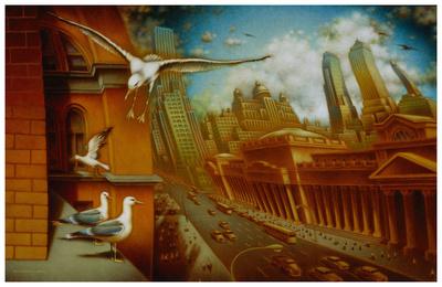 La nouvelle Samarkand Posters by Alain Cardinal