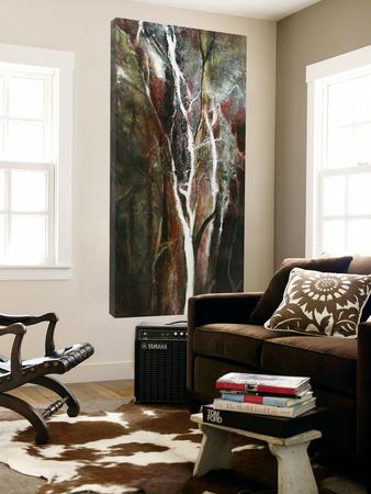 Lueur de la forêt Prints by Kathleen Cloutier