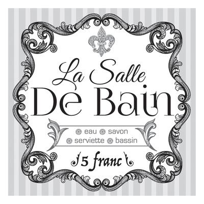 French Bath Set Art By Melody Hogan
