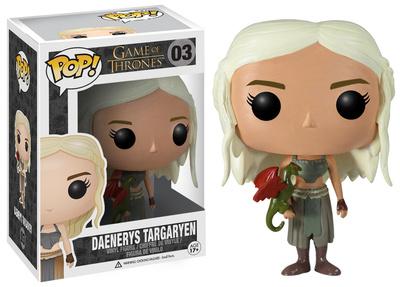 Daenerys Targaryen POP Vinyl Figure.