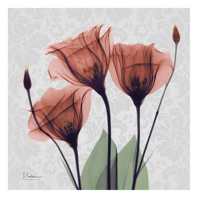 Gentian Marsala Art by Albert Koetsier