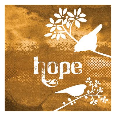 Warm Hope Prints by Melody Hogan