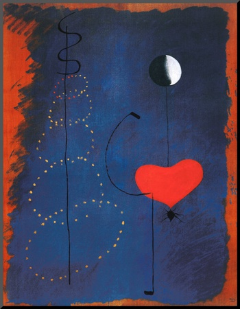 Ballerina II, c.1925 Mounted Print by Joan Miró