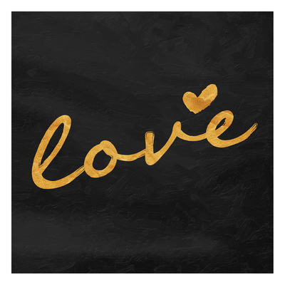 Gold love Prints by  OnRei