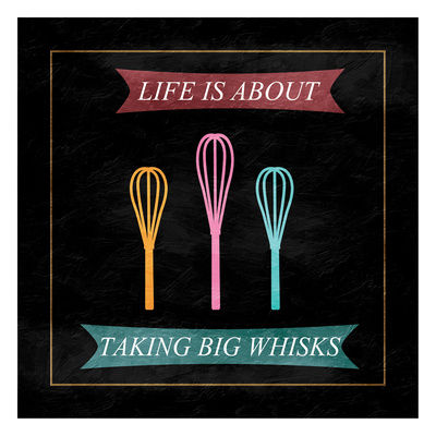 Taking Whisks Art by Sheldon Lewis