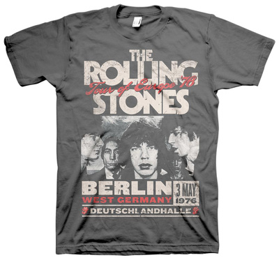 The Rolling Stones - Europe 76 Tシャツ