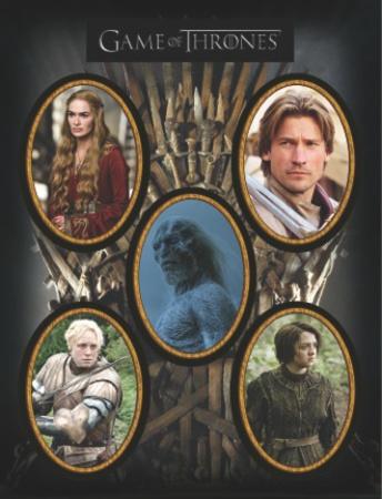 Game of Thrones - Character Magnet Set Juego de imanes