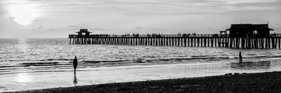 Naples Florida Pier at Sunset Photographic Print by Philippe Hugonnard