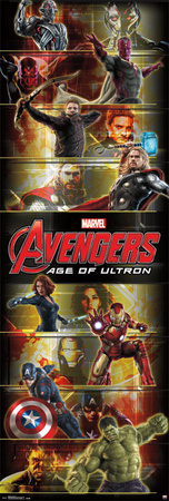 Avengers: Age Of Ultron - Door Prints
