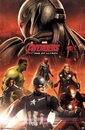 Avengers 2 Age of ultron superhero comic book poster