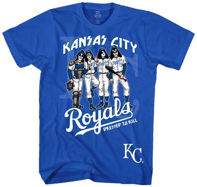 KISS - Kansas City Royals Dressed To Kill Shirts