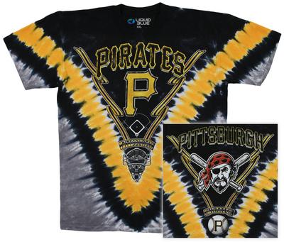 MLB - Pirates V Dye T-Shirt
