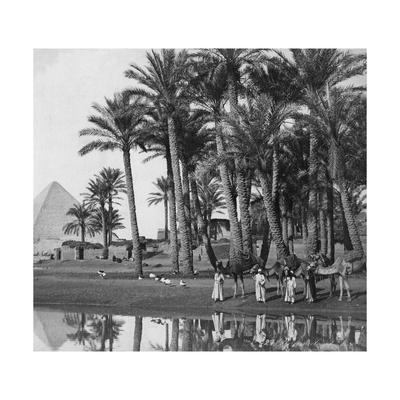 Pyramide von Dahschur, 1902 Photographic Print by Scherl Süddeutsche Zeitung Photo