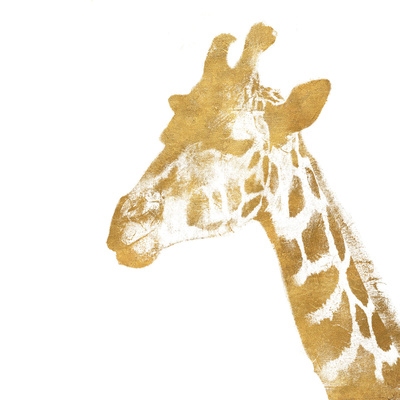 Elegant Gold Safari II (gold foil) Prints by Patricia Pinto