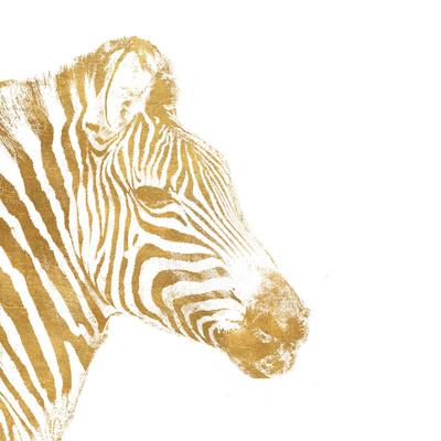 Elegant Gold Safari I (gold foil) Posters by Patricia Pinto