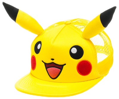 Pokemon merchandise Pikachu big face with ears hat