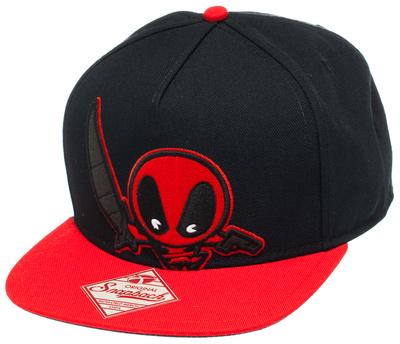 Marvel Kawaii - Deadpool Snapback Hat Hat