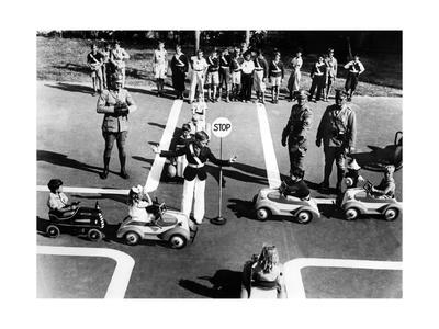 Verkehrserziehung in den USA, 1935 Photographic Print by Scherl Süddeutsche Zeitung Photo